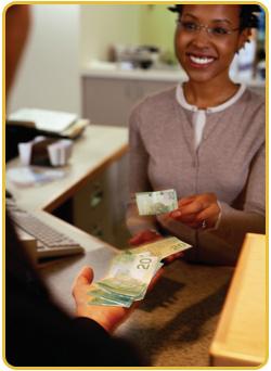 Bank teller 2