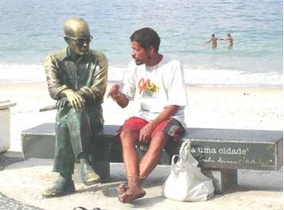 Estátua Carlos Drummond