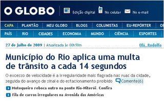 O Globo_Multas