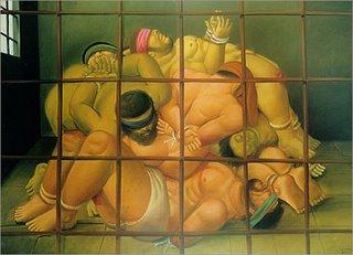 Abu Ghraib por Botero