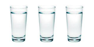 Copos de água