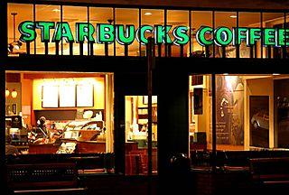 Starbucks-loja