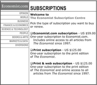 The Economist_Subscription