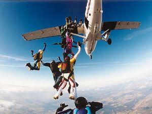Saltando de Paraquedas